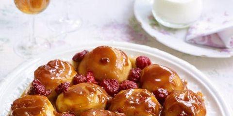 best easy baking recipes apple and raspberry tarte tatin