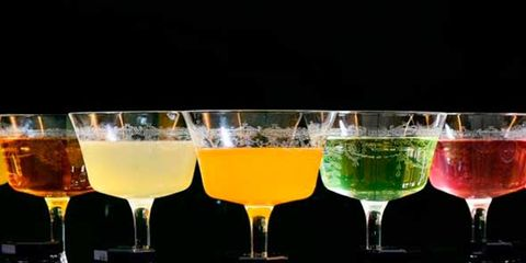 Drink, Glass, Ingredient, Alcoholic beverage, Barware, Tableware, Liquid, Cocktail, Drinkware, Alcohol,