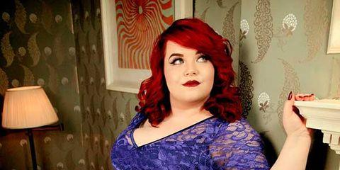 Plus size blogger Georgina Grogan for Scarlett & Jo - Fashion news