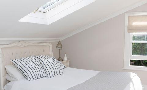 Bedroom, Bed, Furniture, Room, Property, Bedding, Bed sheet, Bed frame, Mattress, Interior design,