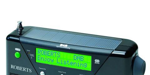 Electronic device, Product, Audio equipment, Technology, Radio, Electronics, Teal, Font, Aqua, Azure,
