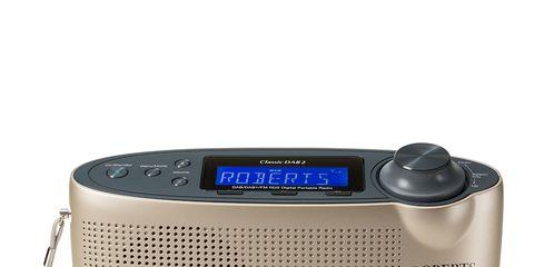 Electronic device, Audio equipment, Technology, Font, Electronics, Electric blue, Azure, Aqua, Teal, Radio,
