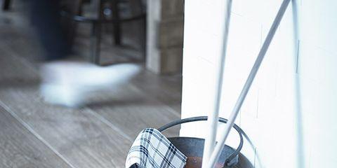 Floor, Flooring, Wood, Hardwood, Wood flooring, Household supply, Laminate flooring, Household cleaning supply, Broom, Composite material,