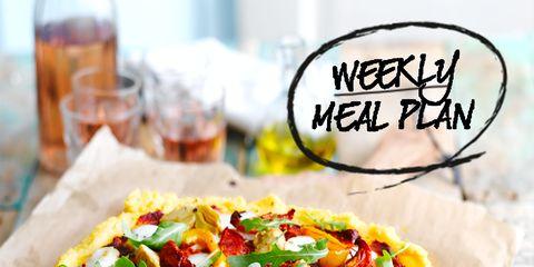 Food, Cuisine, Dish, Recipe, Tableware, Plate, Ingredient, Barware, Pizza, Baked goods,