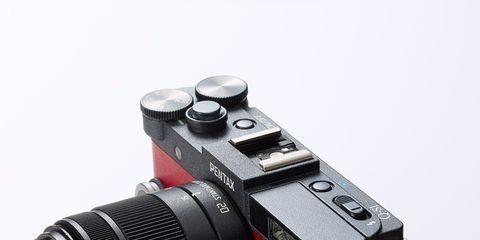 Product, Camera, Camera accessory, Lens, Digital camera, Cameras & optics, Photograph, Camera lens, Technology, Red,