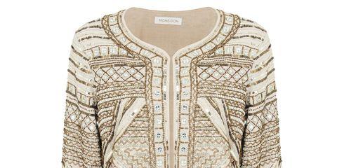 Brown, Collar, Sleeve, Pattern, Fashion, Khaki, Tan, Beige, Button, Peach,