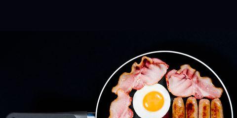 Cuisine, Food, Ingredient, Meal, Dish, Meat, Pork, Breakfast, Animal product, Fast food,