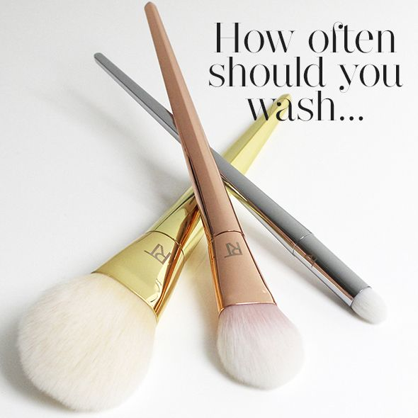 How often should you clean makeup brushes - Tips from Real Techniques' Sam and Nic Chapman