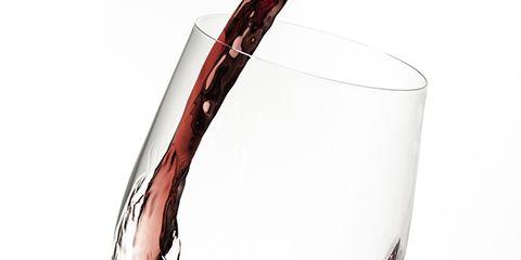 Liquid, Stemware, Drinkware, Glass, Drink, Fluid, Barware, Wine glass, Alcoholic beverage, Red,