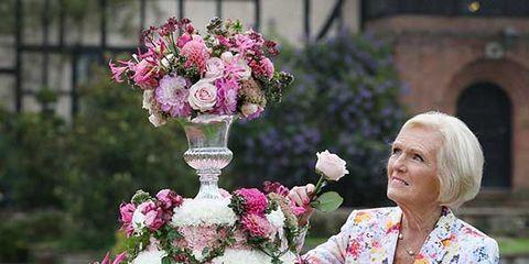 Petal, Flower, Pink, Floristry, Flower Arranging, Magenta, Baked goods, Cake, Floral design, Shrub,