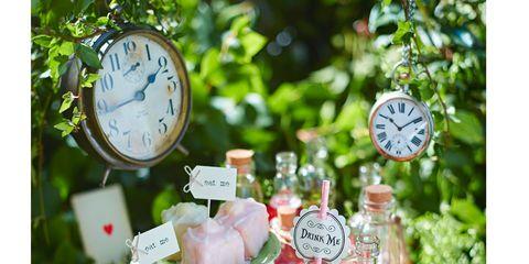 Home accessories, Clock, Peach, Watch, Present, Circle, Wall clock, Number, Quartz clock,