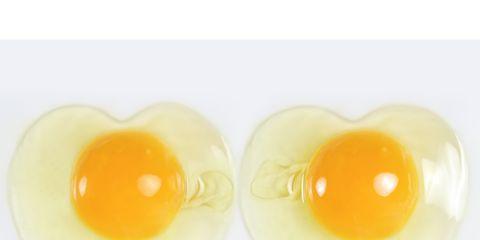 Egg yolk, Yellow, Egg white, Food, Ingredient, Egg, Egg, Breakfast, Finger food, Meal,