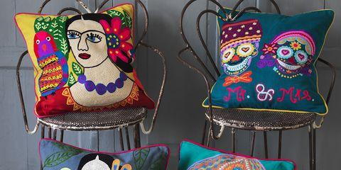 Cushion, Creative arts, Throw pillow, Pillow, Craft, Home accessories,