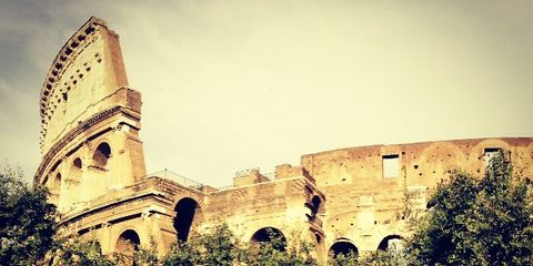 Plant, Landmark, History, Ancient history, Arch, Medieval architecture, Garden, Historic site, Castle, Fortification,