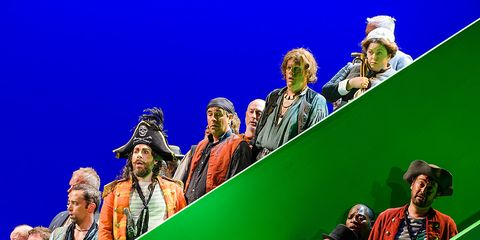 People, Green, Hat, Headgear, Fedora,