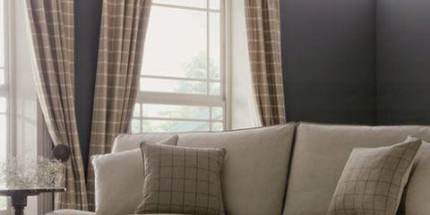 Interior design, Brown, Room, Floor, Wood, Property, Window covering, Flooring, Textile, Home,