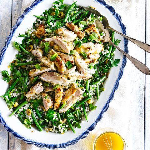 best summer salad recipes lemon chicken couscous salad