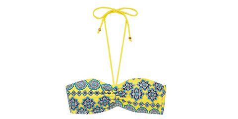 Blue, Product, Yellow, Line, Pattern, Azure, Undergarment, Aqua, Cobalt blue, Lingerie,