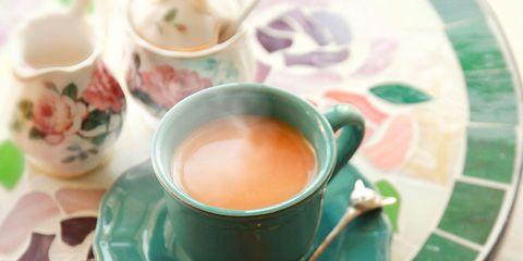 Coffee cup, Cup, Serveware, Drinkware, Dishware, Green, Drink, Tableware, Teacup, Tea,