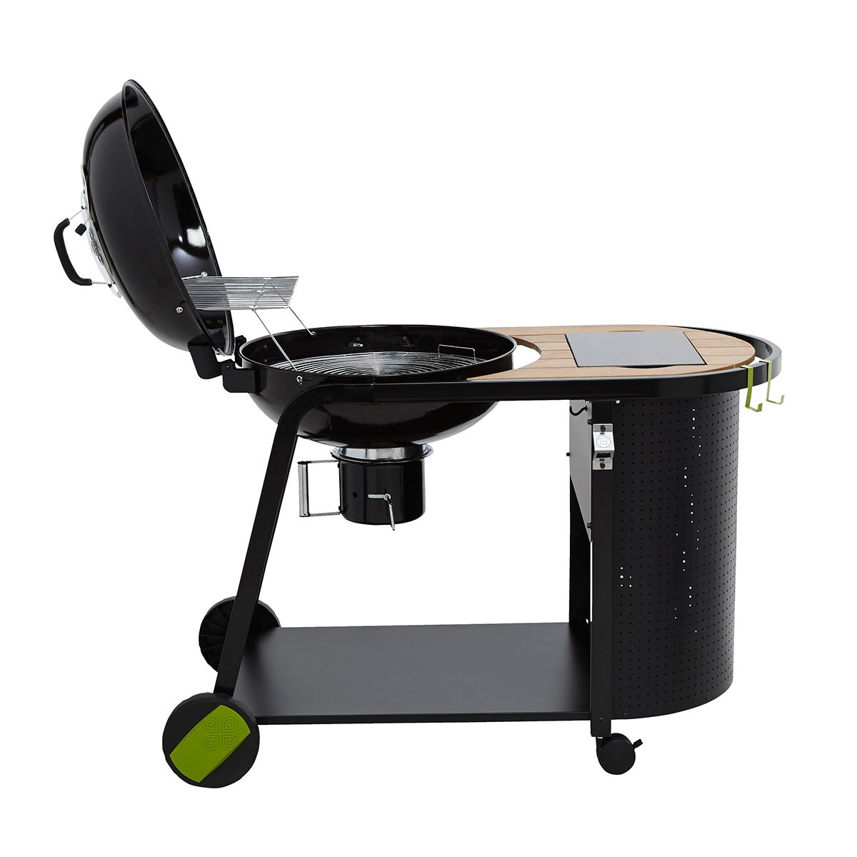 Blooma Kinley Charcoal Kettle Trolley