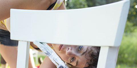 Nose, Mammal, Summer, Blond, Reading, Paper,