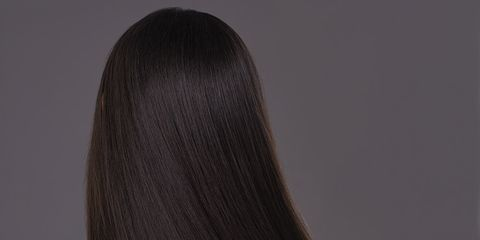 Hairstyle, Style, Wig, Costume accessory, Long hair, Artificial hair integrations, Back, Step cutting, Hair coloring, Costume,