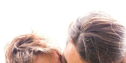 Stubble rash from kissing