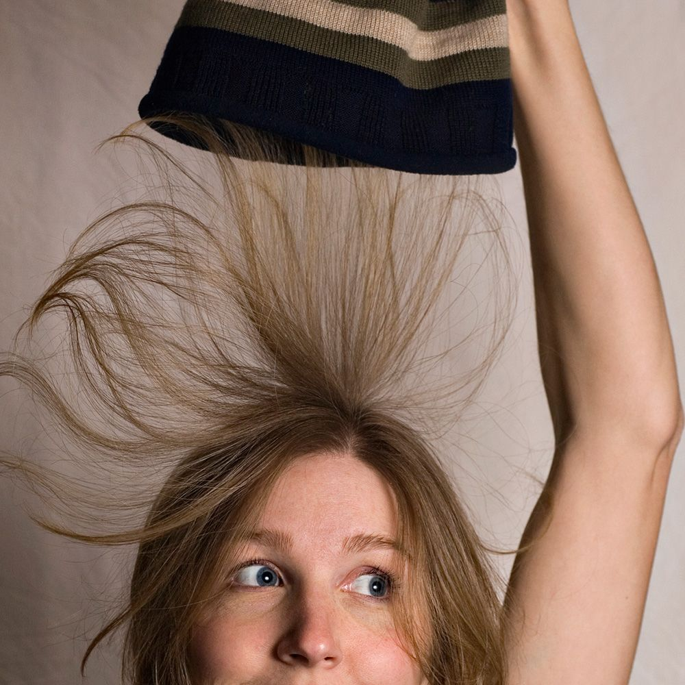 7 ways to stop getting static hair - how to prevent static hair