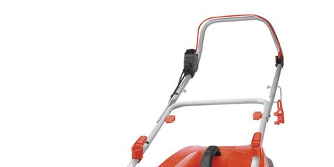 Product, Automotive design, Red, Machine, Black, Orange, Rolling, Cleanliness, Outdoor power equipment,