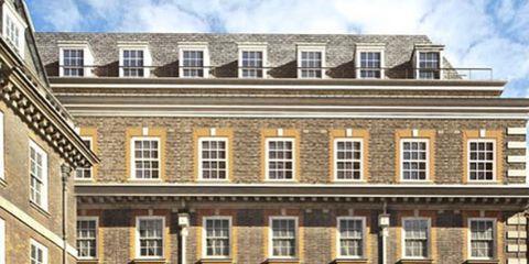 Window, Facade, Building, Mixed-use, Apartment, Sash window, Urban design, Condominium, Square, Headquarters,