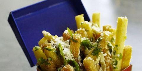 Food, Cuisine, Fried food, Dish, Ingredient, Recipe, Fast food, Basket, Finger food, Box,