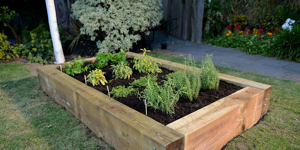 How to build your very own raised herb garden - DIY