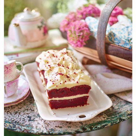 natural red velvet cake