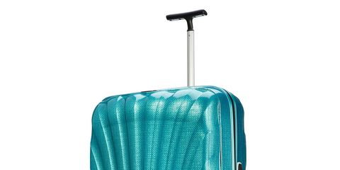 Blue, Product, Teal, Aqua, Turquoise, Line, Azure, Rolling, Parallel, Baggage,
