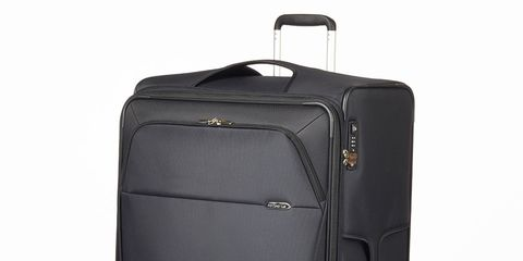 Product, Style, Black, Grey, Baggage, Plastic, Rolling, Steel, Musical instrument accessory, Silver,