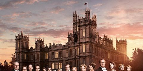 People, Social group, Formal wear, Spire, Medieval architecture, Palace, Stately home, Evening, Mansion, Tower,