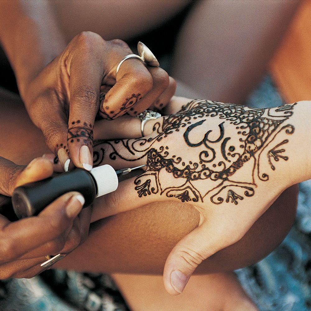 Why you shouldn\'t get a henna tattoo