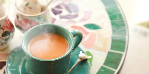 Coffee cup, Cup, Serveware, Drinkware, Dishware, Green, Teacup, Tableware, Drink, Tea,