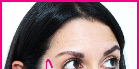 Nose, Lip, Cheek, Finger, Brown, Hairstyle, Skin, Eye, Chin, Forehead,