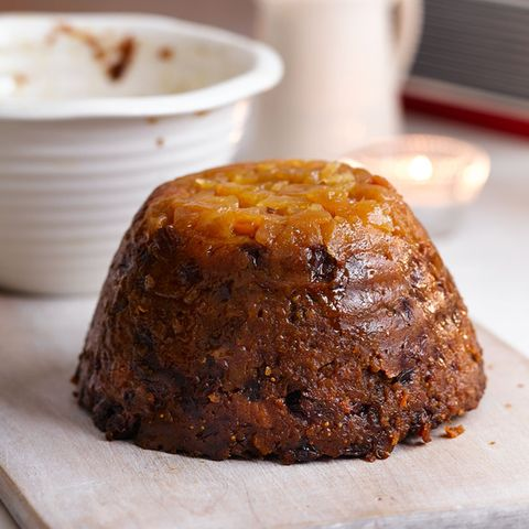 Christmas Pudding Recipe.Pear And Ginger Christmas Pudding