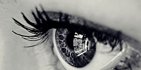 Eyelash, Eyebrow, Photograph, Style, Monochrome photography, Iris, Monochrome, Colorfulness, Organ, Beauty,