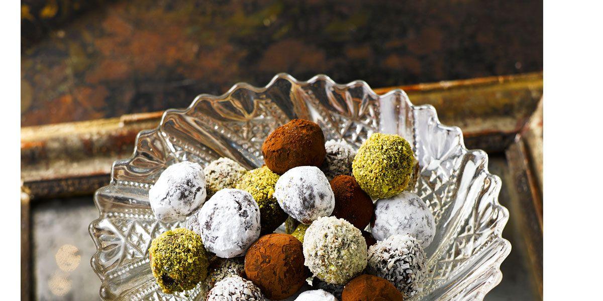Simple chocolate truffles - Easy chocolate truffle recipe