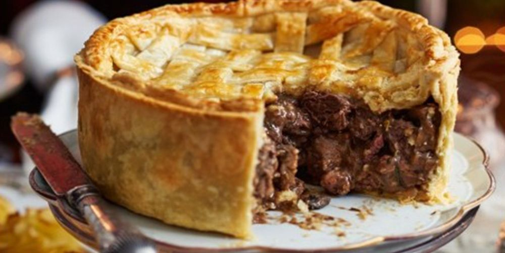 Beef and venison pie - pie recipes