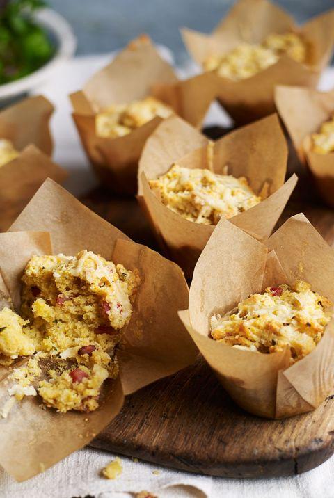 polenta muffins recipe