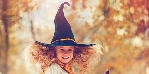 Witch hat, Hat, People in nature, Headgear, Costume accessory, Fashion accessory, Costume, Art, Costume hat, Costume design,