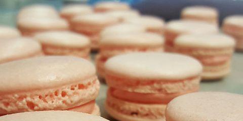 Food, Sweetness, Cuisine, Finger food, Ingredient, Red, Dessert, Baked goods, Macaroon, Confectionery,
