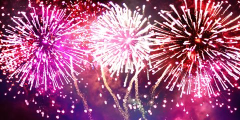 Fireworks, New Years Day, Event, Purple, Pink, Night, Sky, New year's eve, Holiday, Festival,