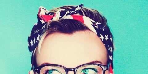 Eyewear, Vision care, Lip, Hairstyle, Skin, Chin, Forehead, Eyebrow, Eyelash, Hair accessory,