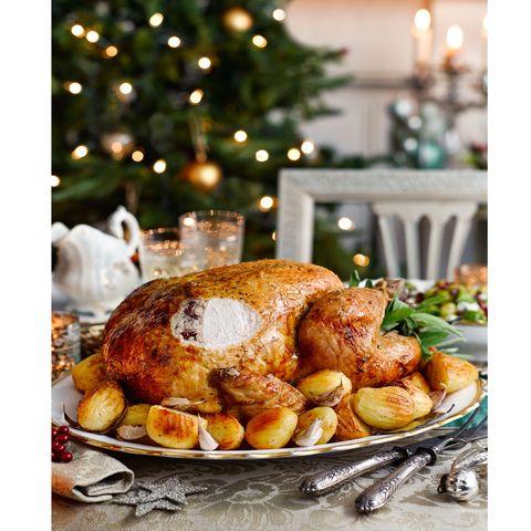 Christmas Turkey.Honey Glazed Turkey With Gravy