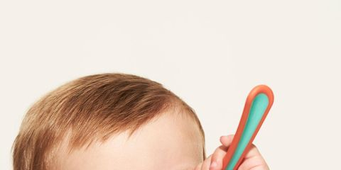 Finger, Lip, Skin, Child, Organ, Kitchen utensil, Nail, Taste, Toddler, Spoon,